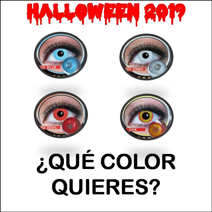 Halloween 2019. Colores.
