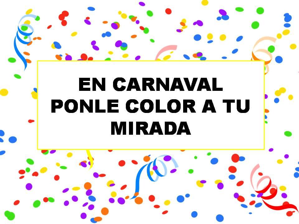 Ponle color a tu mirada con lentillas para Carnaval