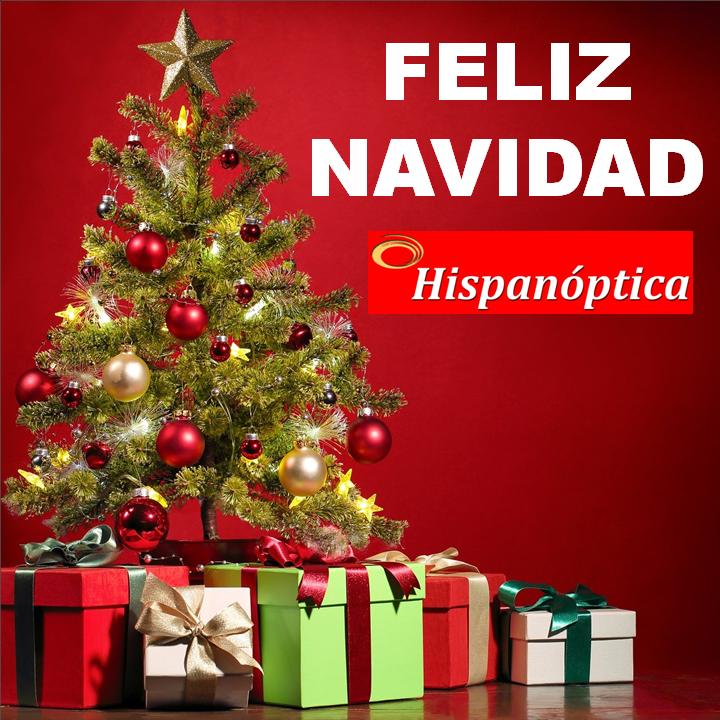 Hispanóptica os desea feliz Navidad y 2021